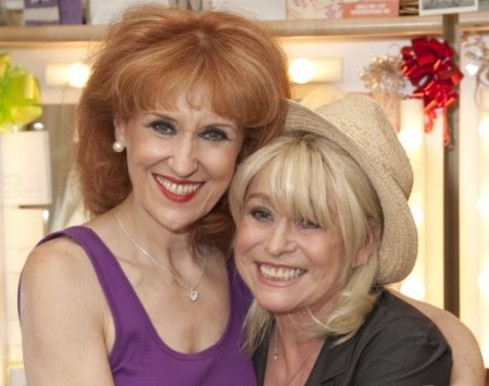 Barbara Windsor and Anita Dobson