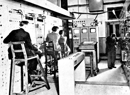 BBC Engineers in 1936