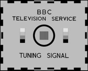 BBC tuning signal test card