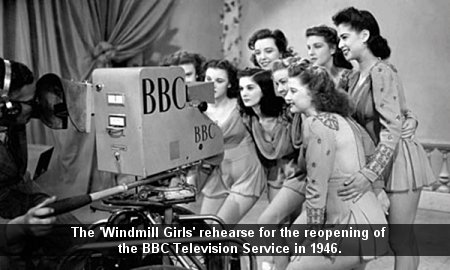 The Windmill Girls at the BBC